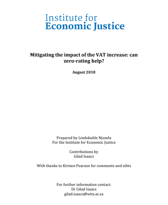 Mitigating the impact of the VAT increase: can zero-rating help?