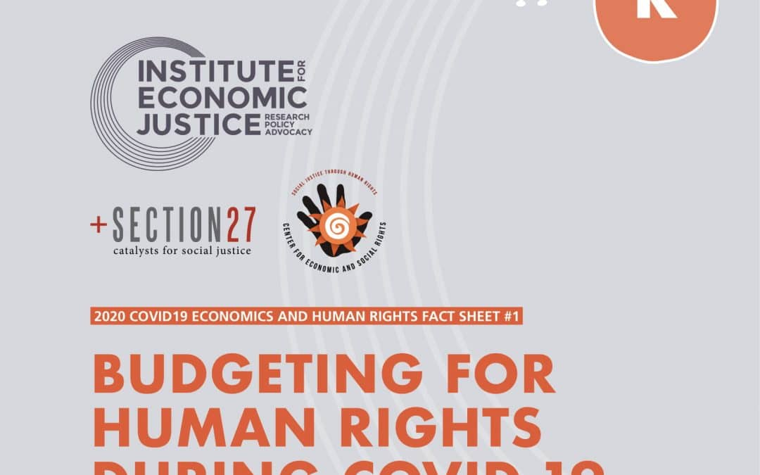 Budgeting for Human Rights during COVID-19
