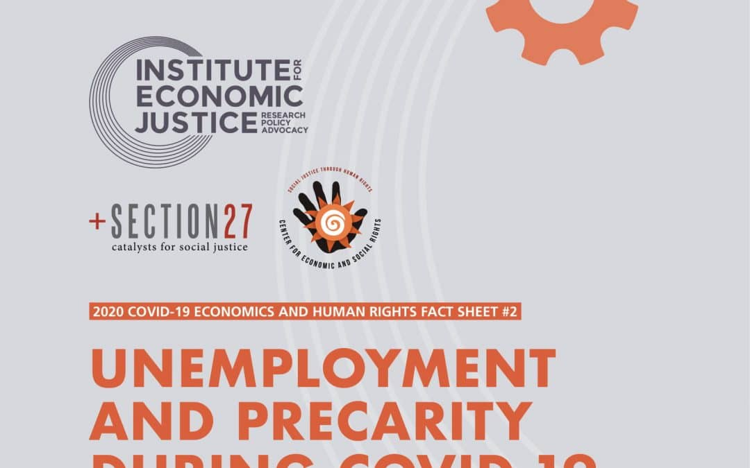 Unemployment and Precarity during COVID-19